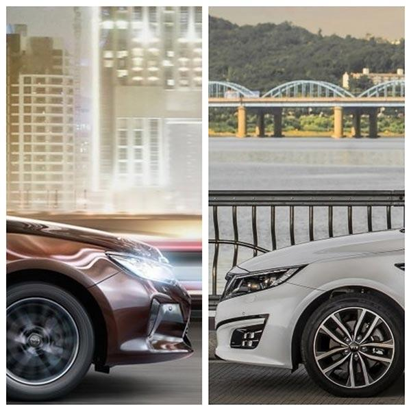 Toyota camry или kia optima 2016