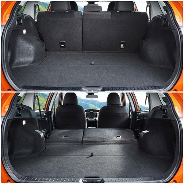 Королла Филдер E160 багажник