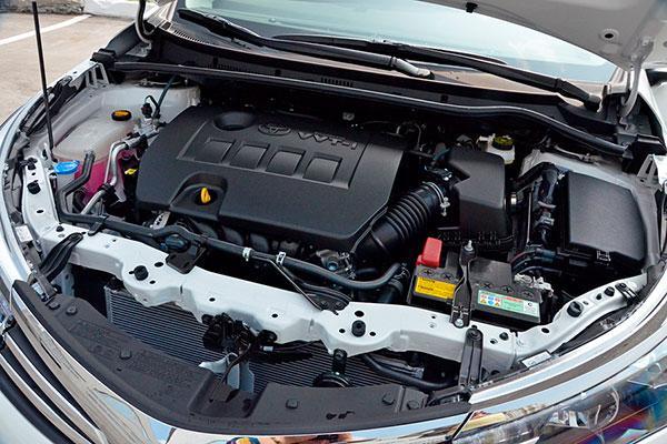 Corolla 180 под капотом