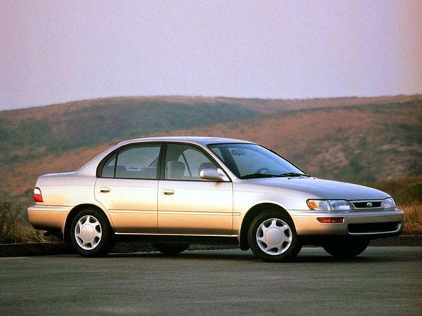 Corolla E100 рестайлинг