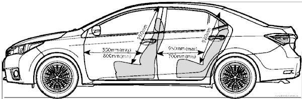 Салон Corolla 170