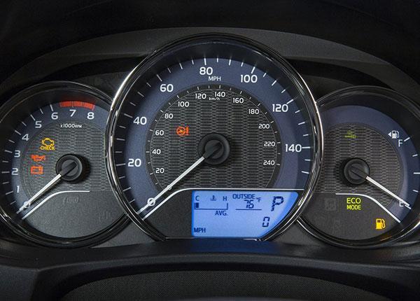 Приборы Corolla 170