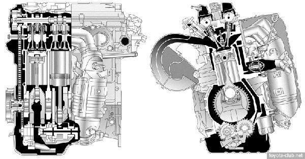 2AZ - двигатель Тойота 2.4