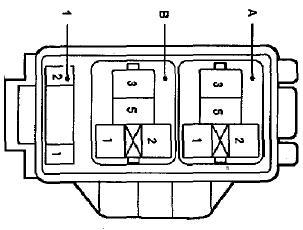 4-й блок предохранителей Corolla 120