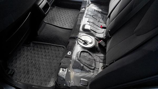 Камри без задних сидений