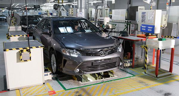 Производство Тойота