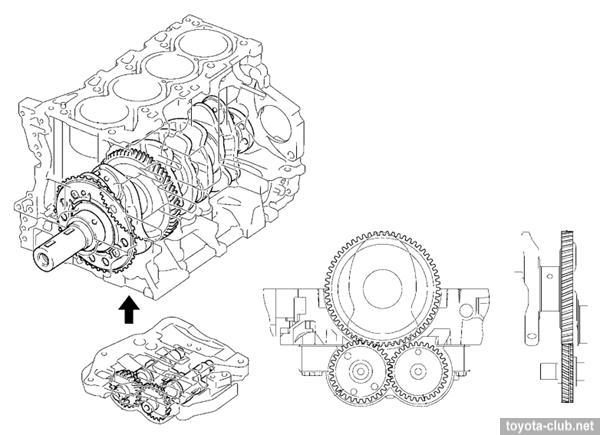 Двигатели Тойота серии AD