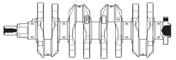 Коленвал моторов серии ZZ