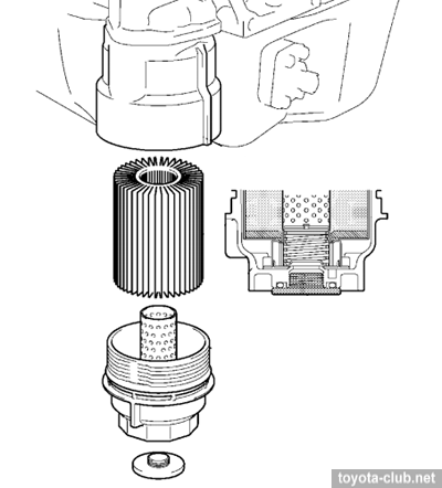 Масленый фильтр 2AD