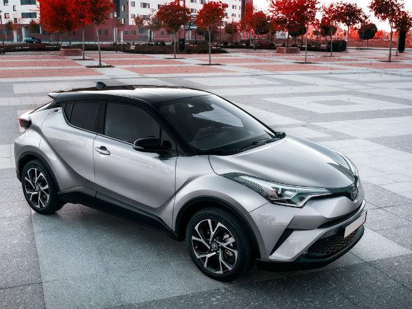 На Toyota CH-R
