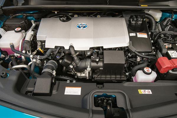 Prius Prime под капотом