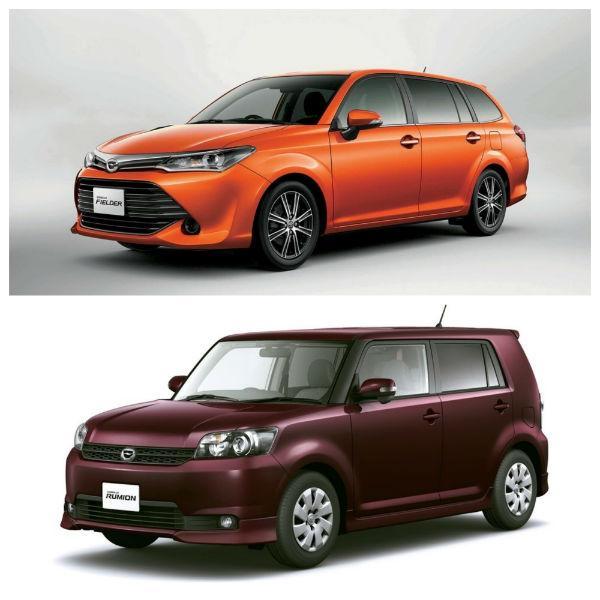 Toyota Corolla Fielder и Toyota Corolla Rumion