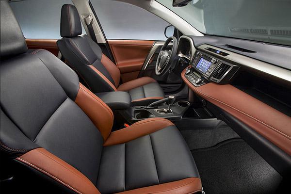 Toyota Rav 4 XA40 салон