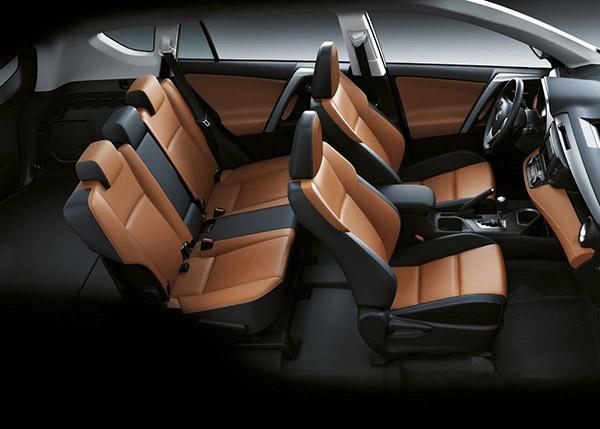 Toyota Rav 4 XA40 комбинированный салон