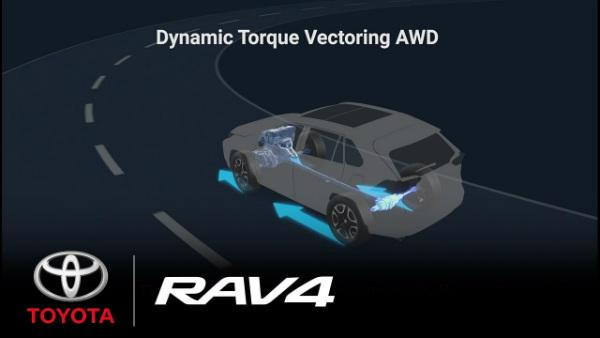 Dynamic Torque Vectoring AWD