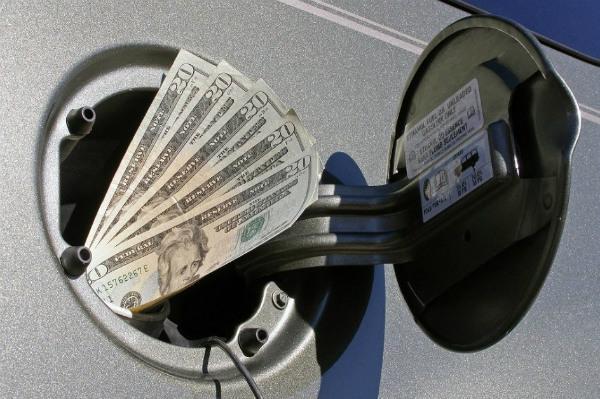 увеличенный расход топлива