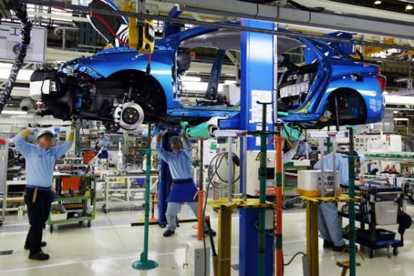 завод Тойота в Такаока