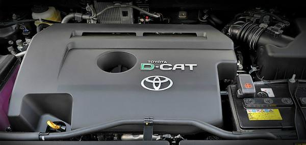 дизельный двигатель 2.2 2AD-FHV Рав 4