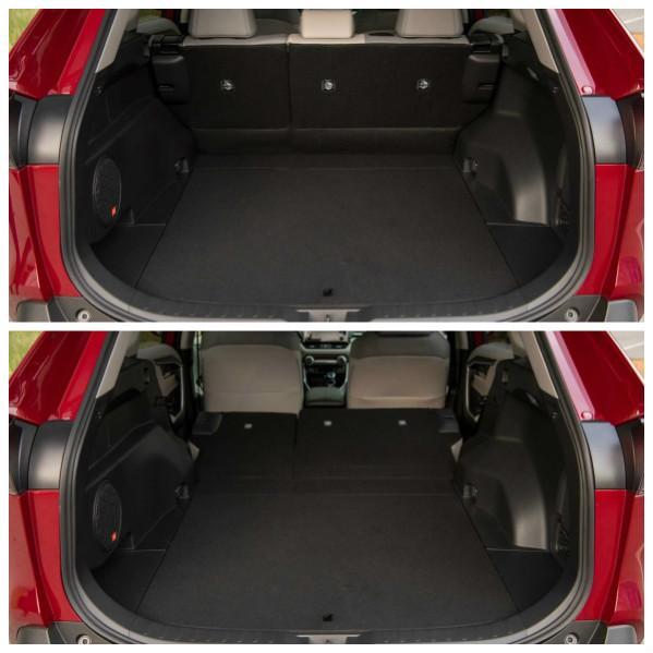 Багажник Rav 4 гибрид