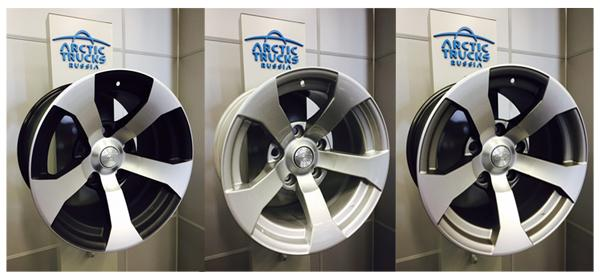 Оригинальные диски Arctic Trucks