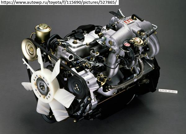 Двигатель Toyota 3F-E