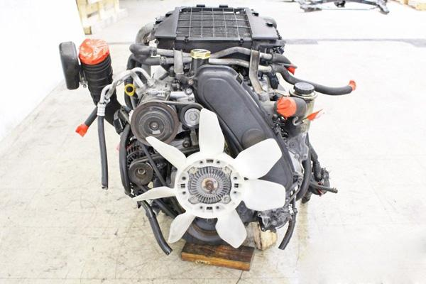 Двигатель 1KZ-TE 3.0 дизель
