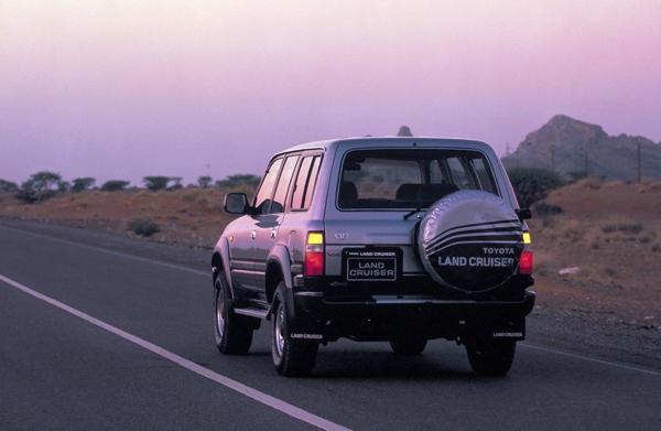 Toyota Land Cruiser 80 Европейская версия VX