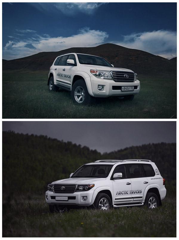 Toyota Land Cruiser 200 AT35 и Toyota Land Cruiser 200 AT33
