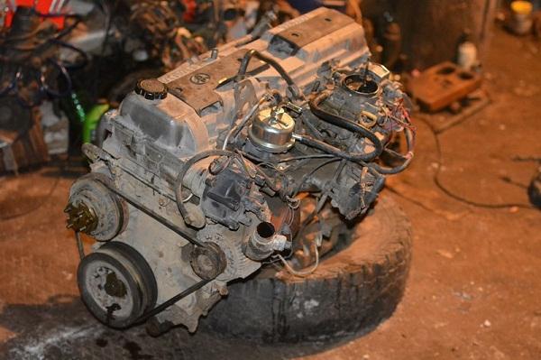 Карбюраторный мотор 1FZ-F