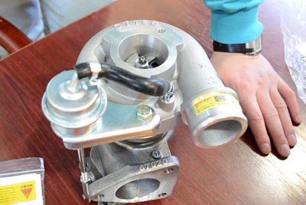 Турбина двигателя 1KZ-TE 3.0