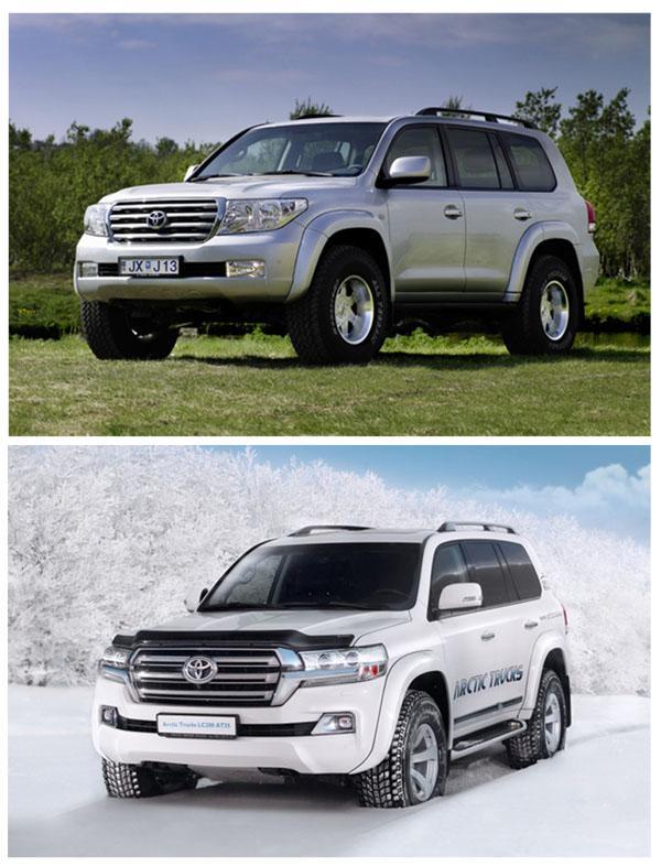 Land Cruiser 200 и Land Cruiser 200 Arctic Trucks