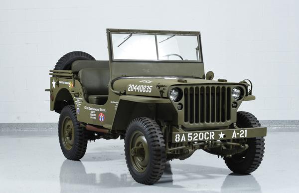 Willys MB – американский внедорожник повышенной проходимости