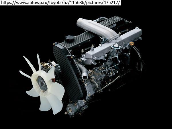 Двигатель Toyota 1HZ