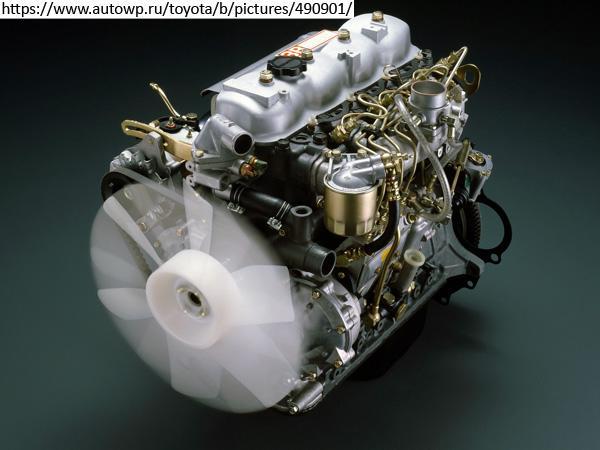 Двигатель Toyota 3B