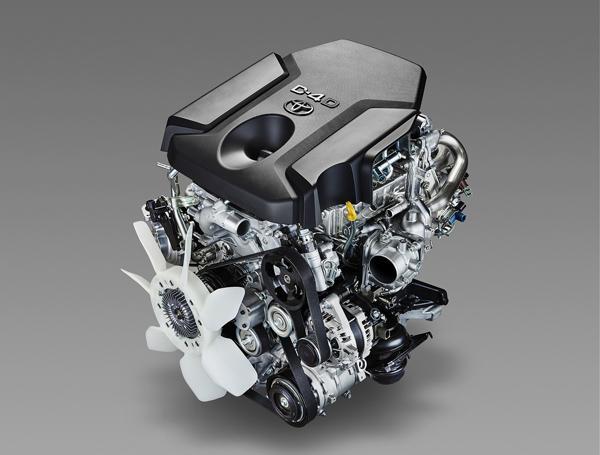 Двигатель Toyota 1GD-FTV
