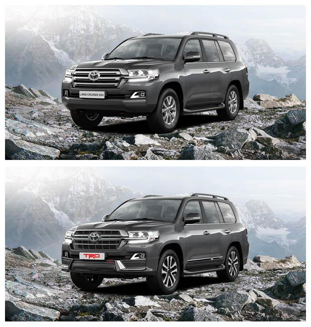 Toyota Land Cruiser 200 и Toyota Land Cruiser 200 TRD