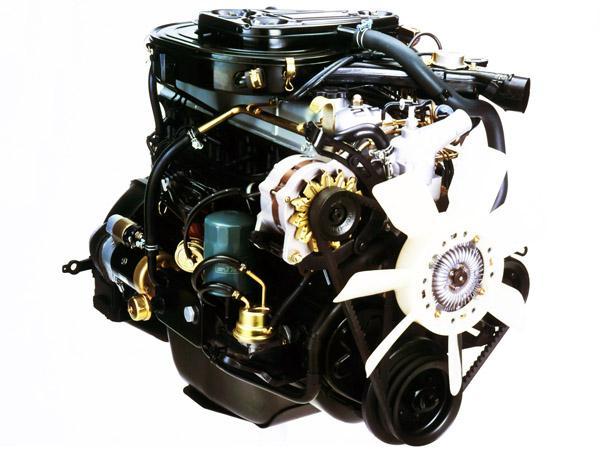 Двигатель Toyota 2F