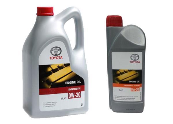 Синтетическоемаслоот Тойоты Premium Fuel Economy вязкостью 0W-30
