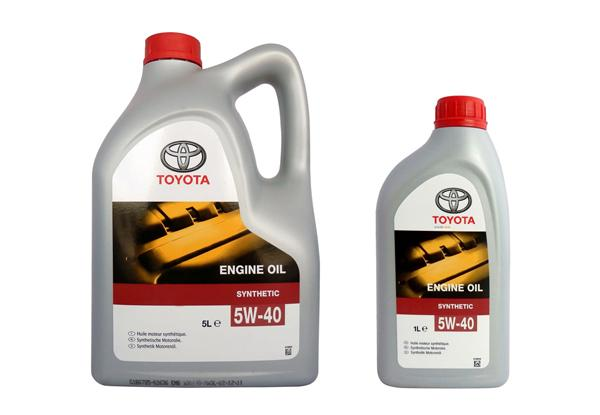 Toyota «ENGINE OIL 5W-40»