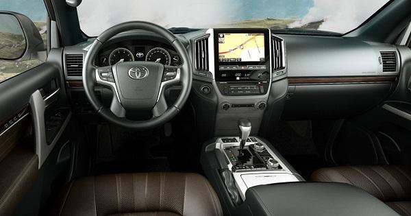 Салон ToyotaLandCruiser 200ExecutiveLounge