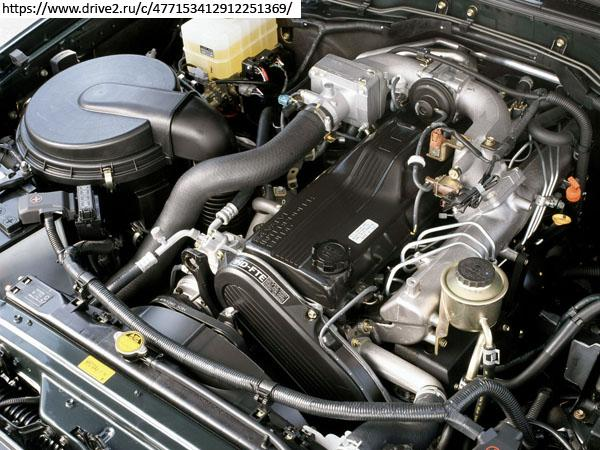 Двигатель Toyota 1HD-FTE