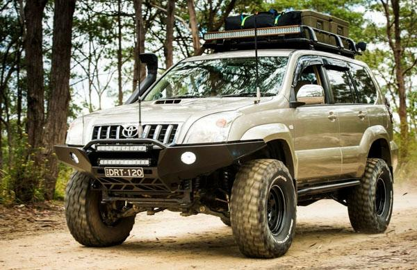 Off-Road тюнинг Land Cruiser Prado 120