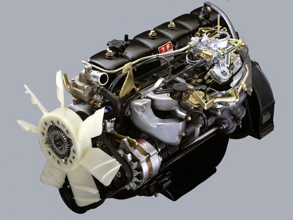 Двигатель Toyota 3F