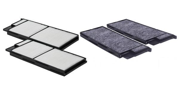 Фильтрующие элементы салонного фильтра
