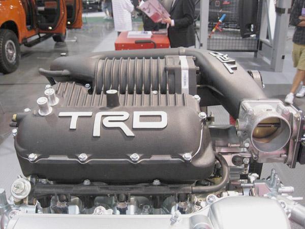 Компрессор-кит от TRD для мотора 1GR-FE