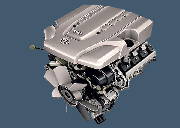 Бензиновый мотор2UZ-FE