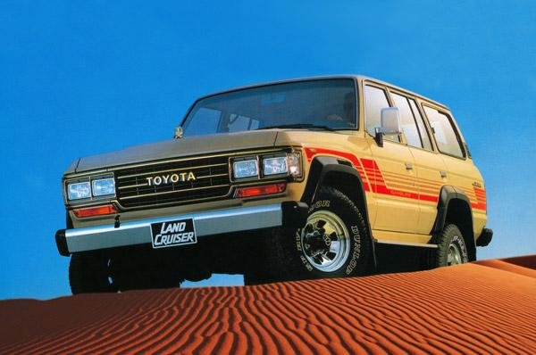 Land Cruiser 60 1987 года