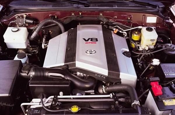 2UZ-FE - двигатель Тойота 4.7 литра