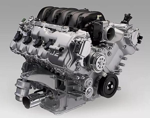 Бензиновый двигатель 4.6 л, 1UR-FE сцепным привод
