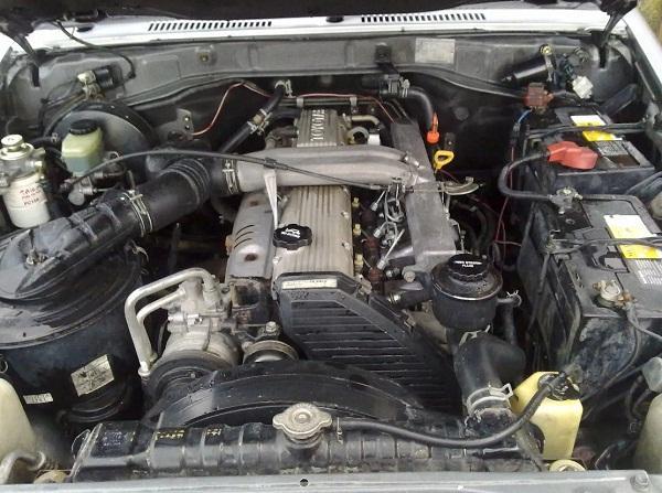 Атмосферный дизель V6 4.2 1HZ